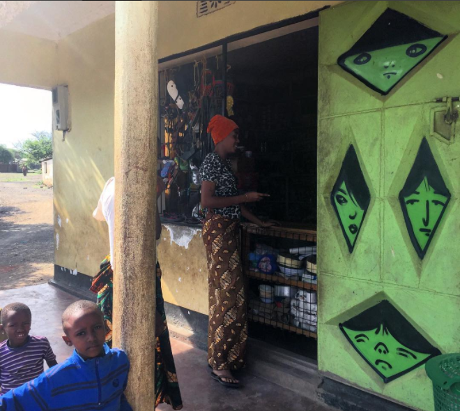 David Choe Green Door - Mangola, Manyara, Tanzania