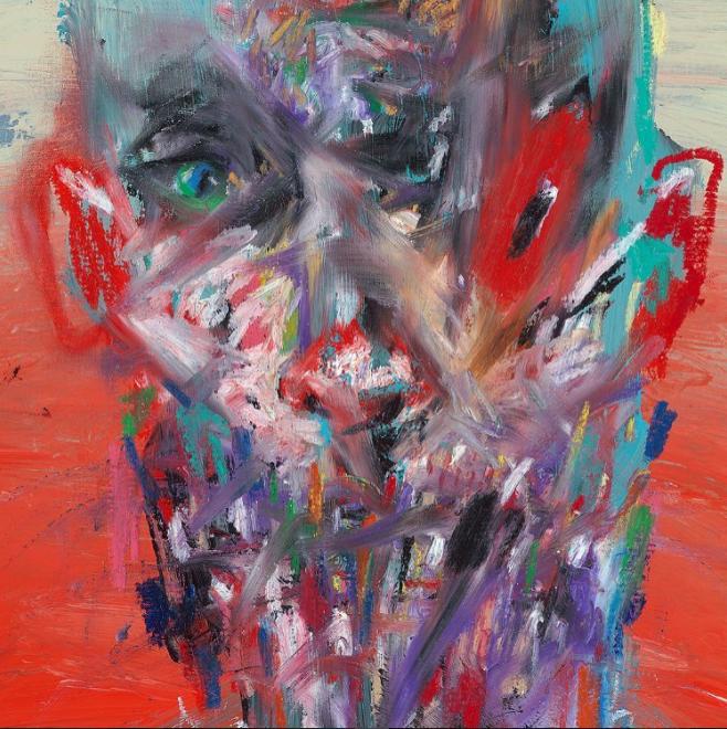 David Choe abstract art