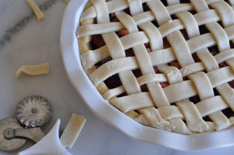 Mixed Berry Pie - 4