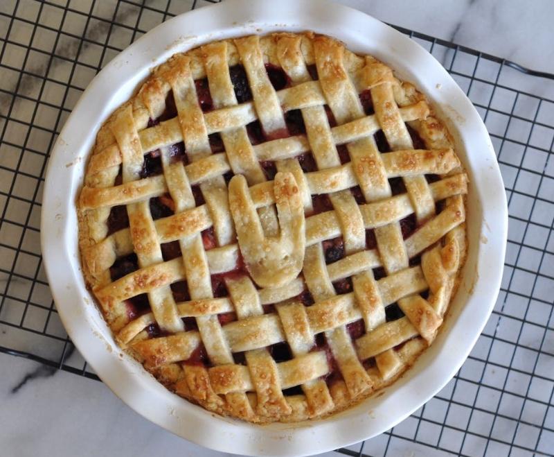 Mixed Berry Pie - 7