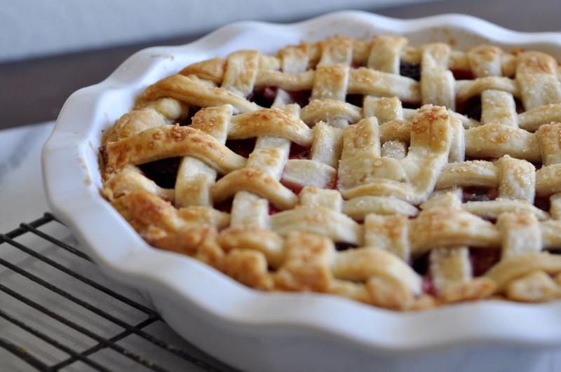 Mixed Berry Pie - 8