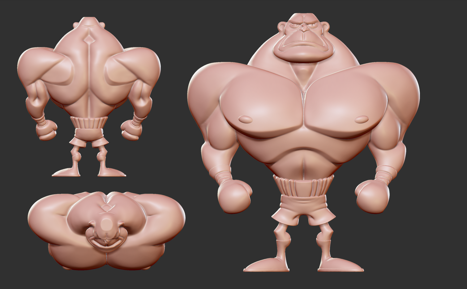 2. Base sculpt