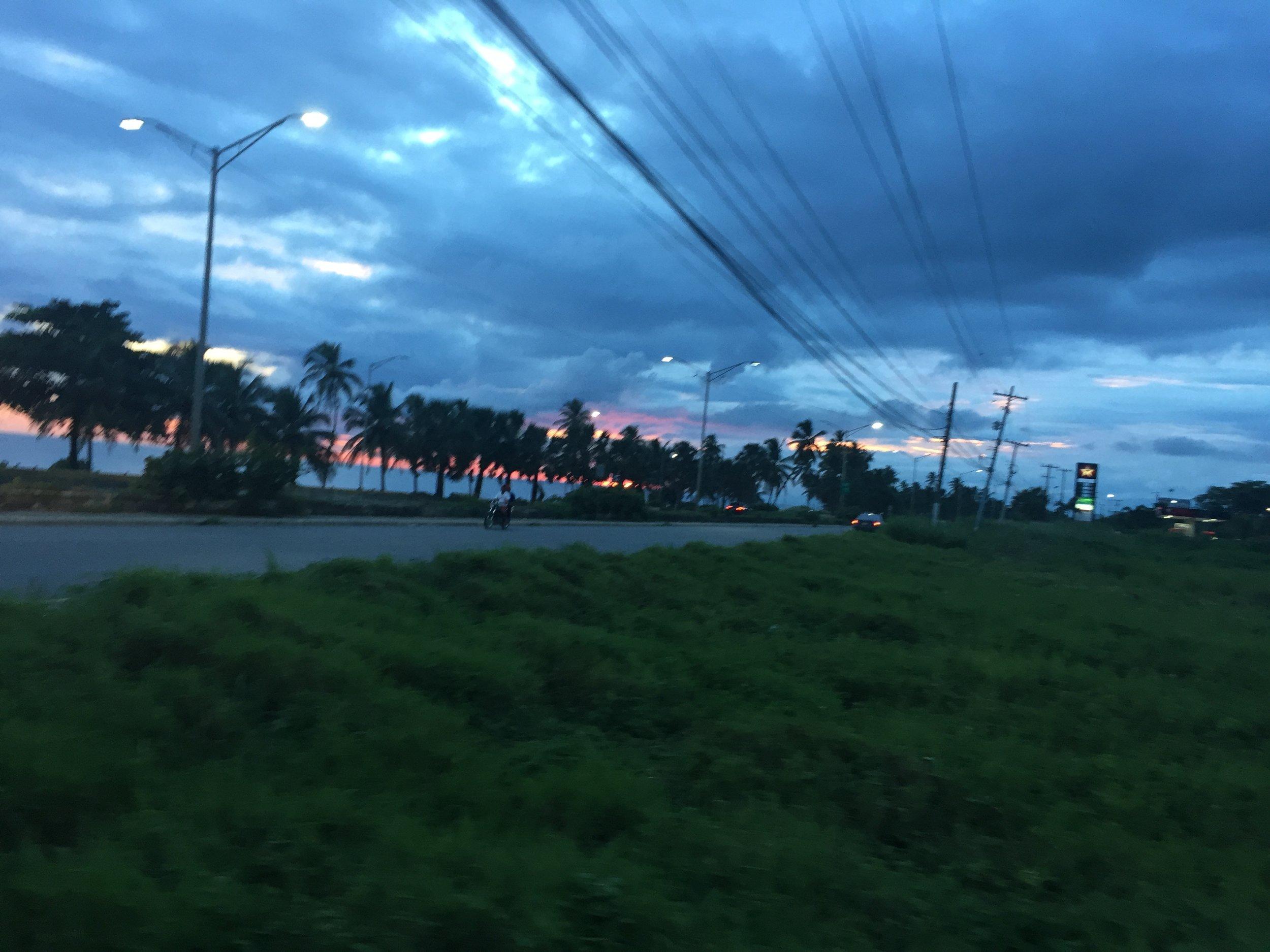 DR1116 Hwy sunset 1.JPG