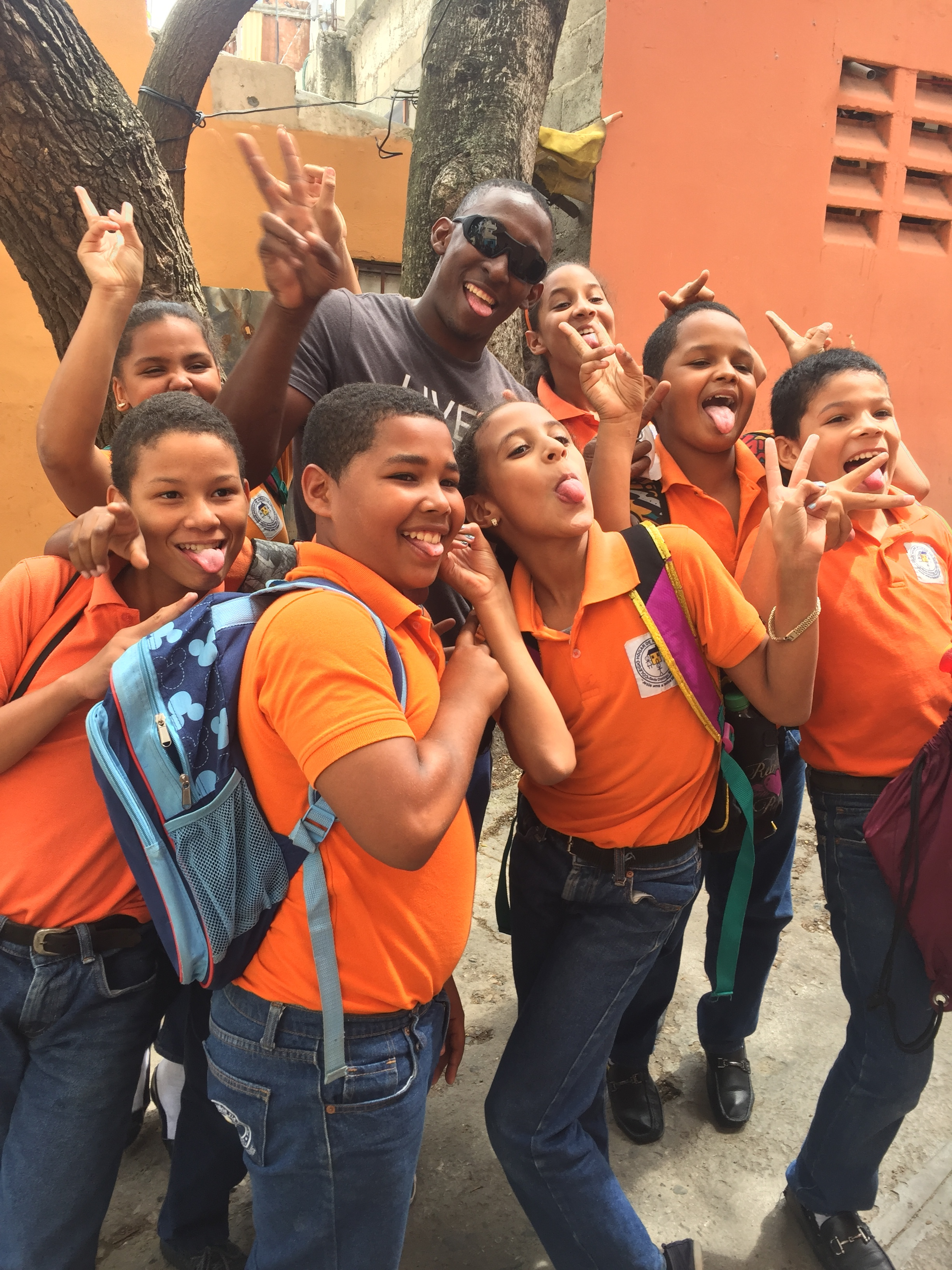 Afternoon students at Hogar de Ninos Tia Tatiana