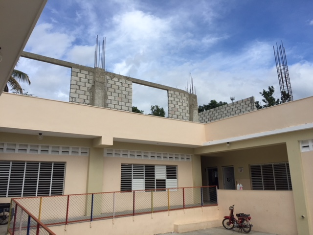 New Vision Trust School for grades Pre-K-6 in Comendador on the DR side of the border with Haiti
