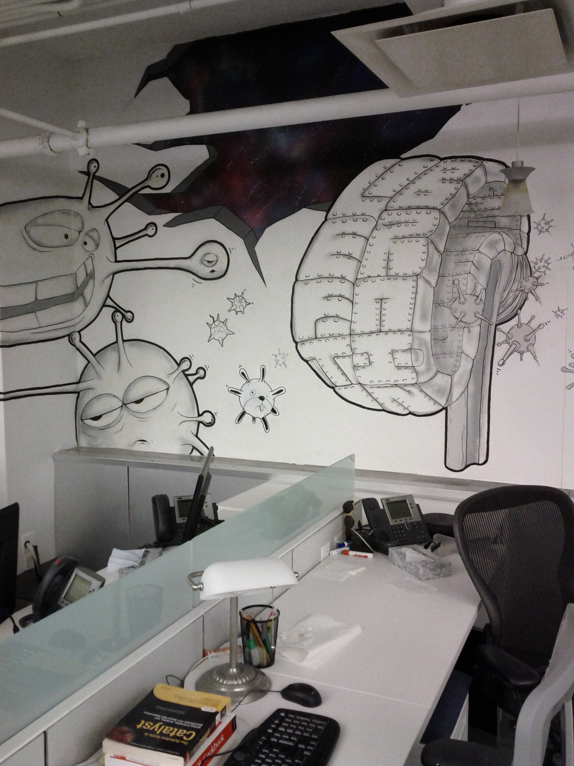 Mural with Jack Aguirre (www.Jack29.com)