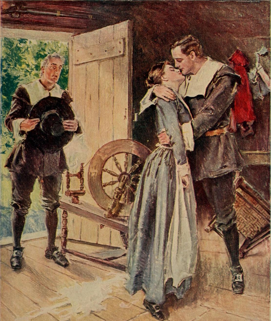 Courtship_of_Miles_Standish_(1903)_(14757131396).jpg