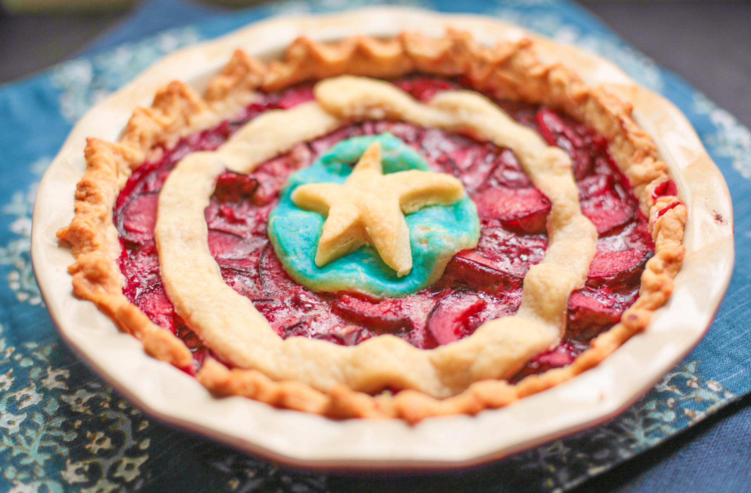 Recipe: Bucky's Plum Pie