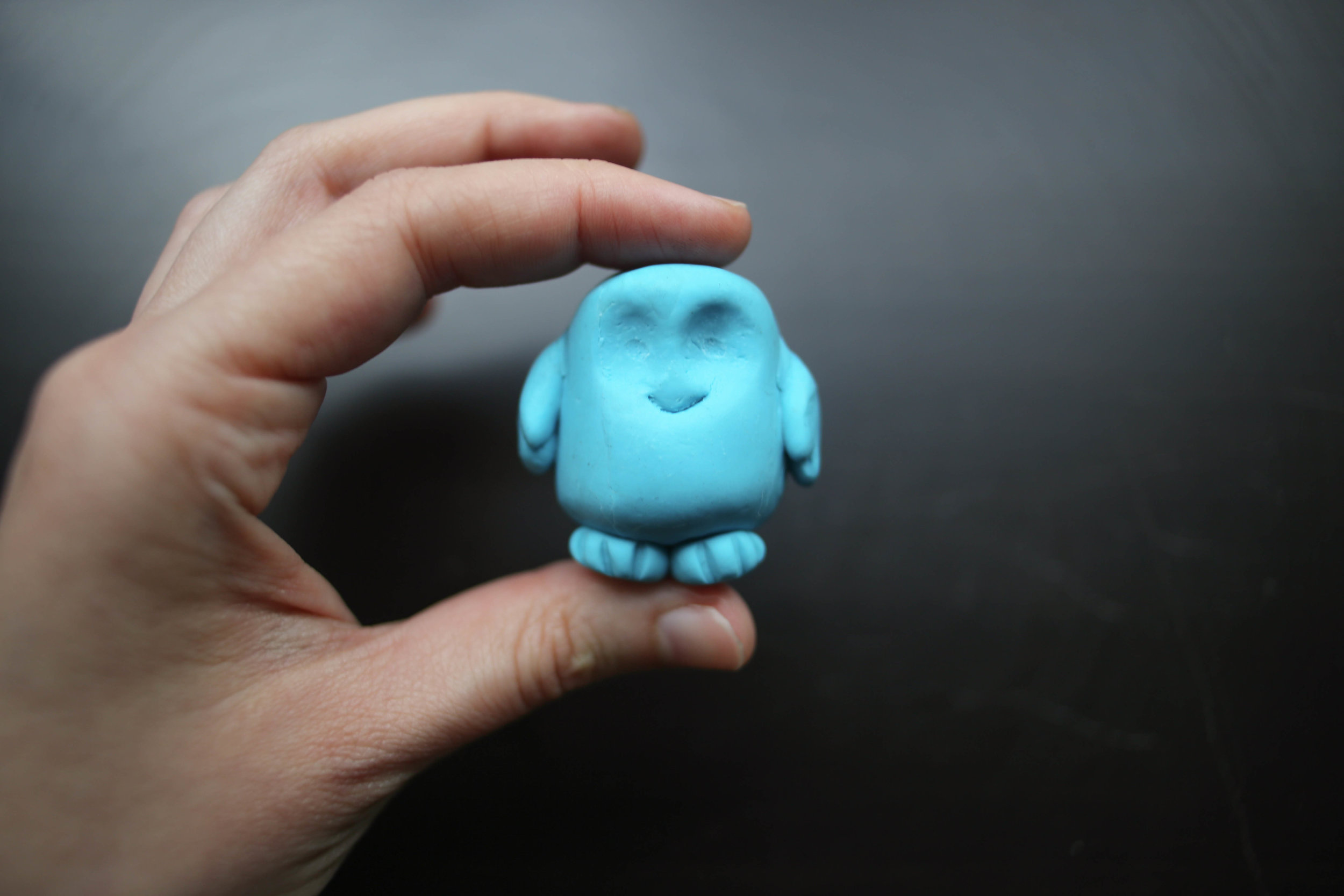 This little adipose is going to make a cute marshmallow someday.