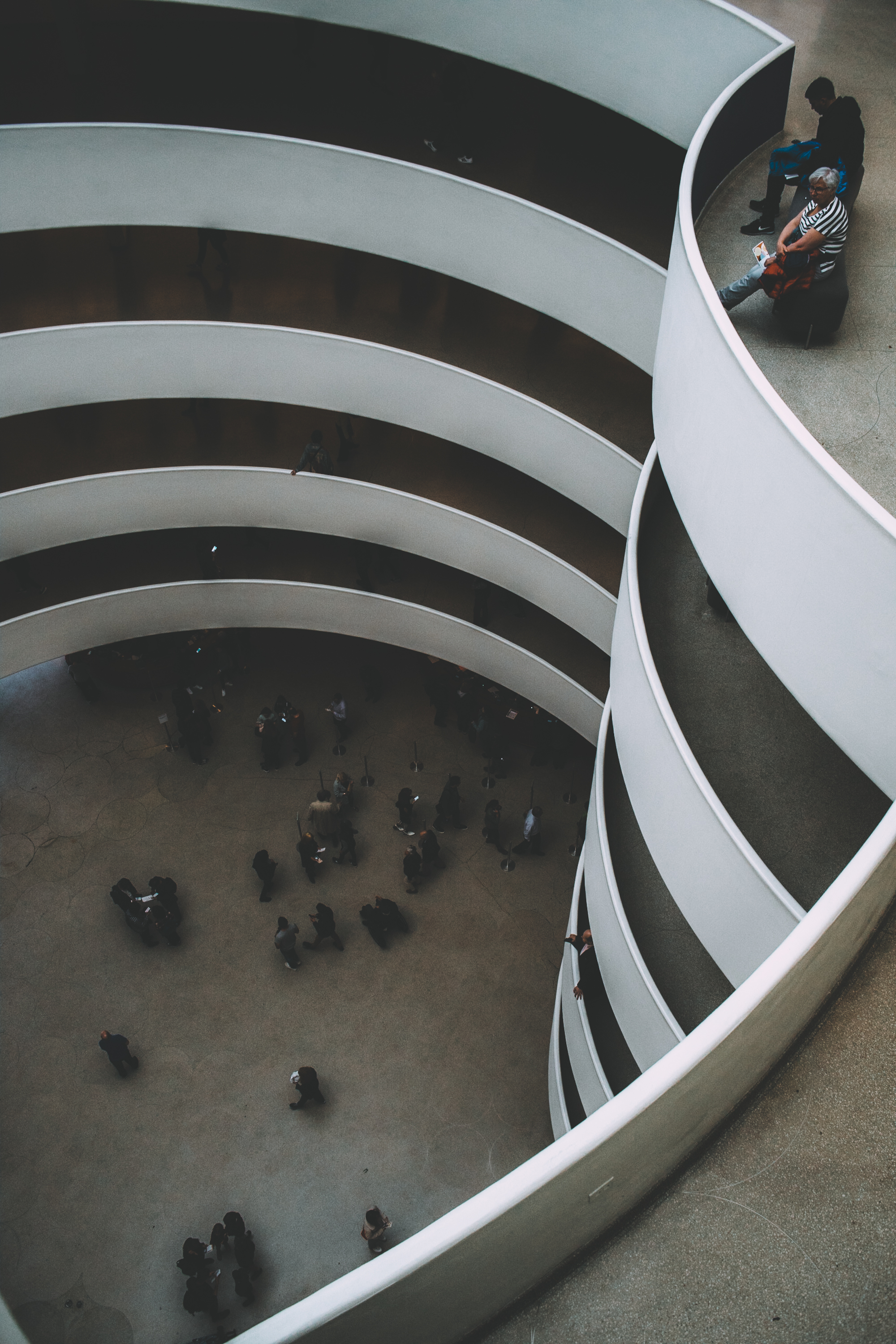 Personal work shot at the Guggenheim, NYC.