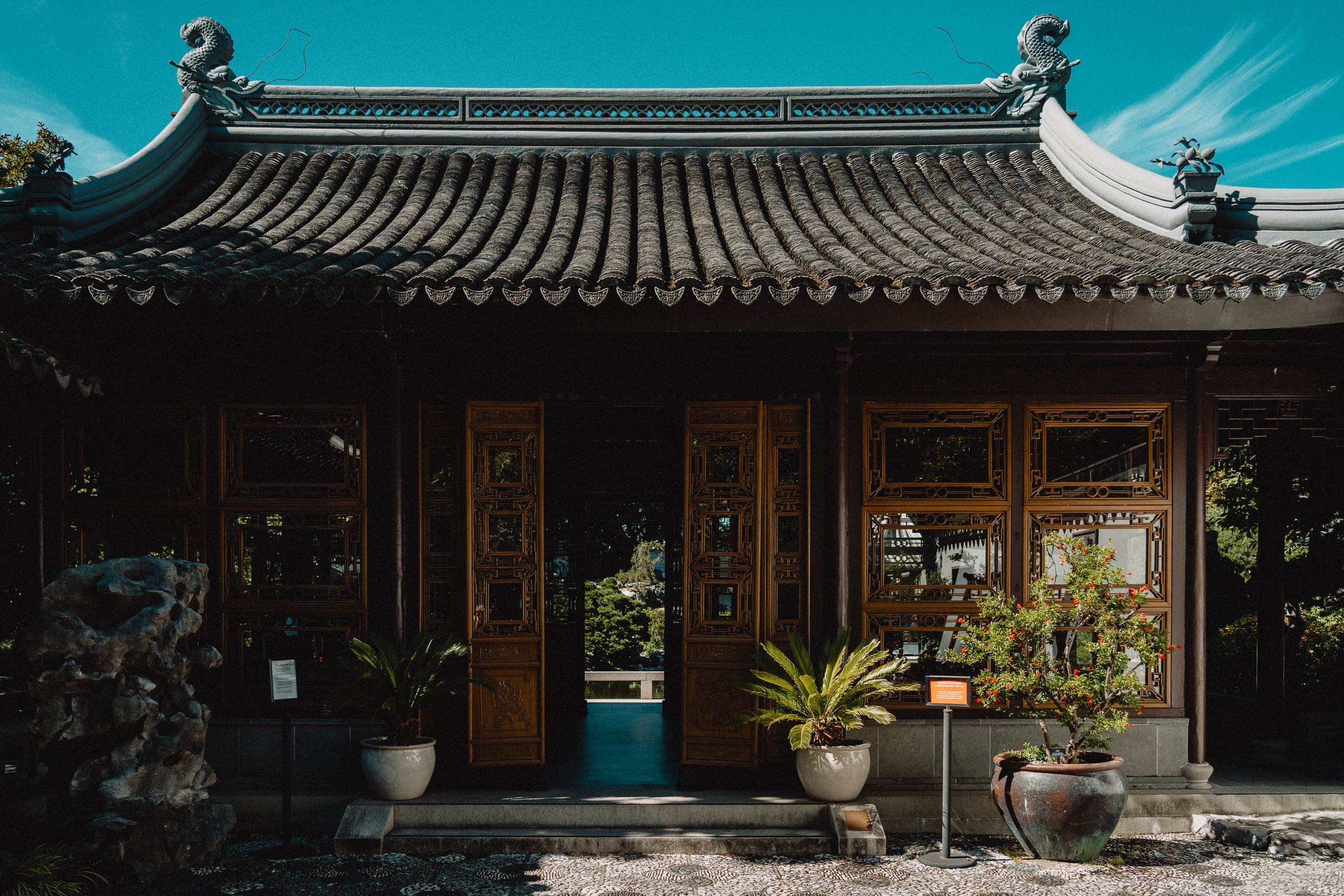 Personal work shot at Lan Su Chinese Garden, in Portland, OR.