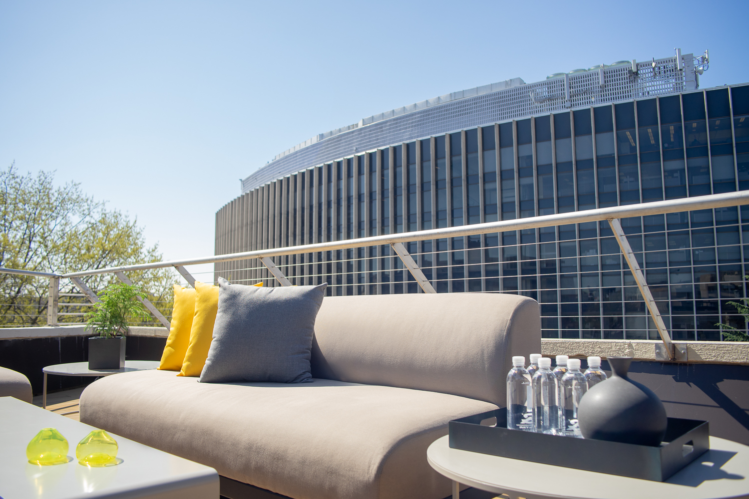 Rooftop views at Hotel Hive, in Foggy Bottom, Washington, DC.
