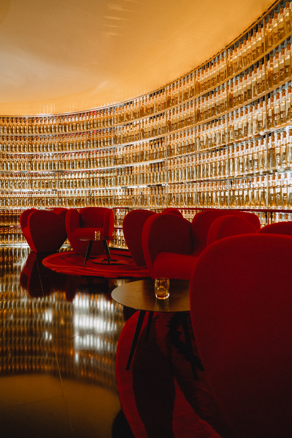 The Next Whiskey Bar, at the Watergate Hotel, in Washington, DC.
