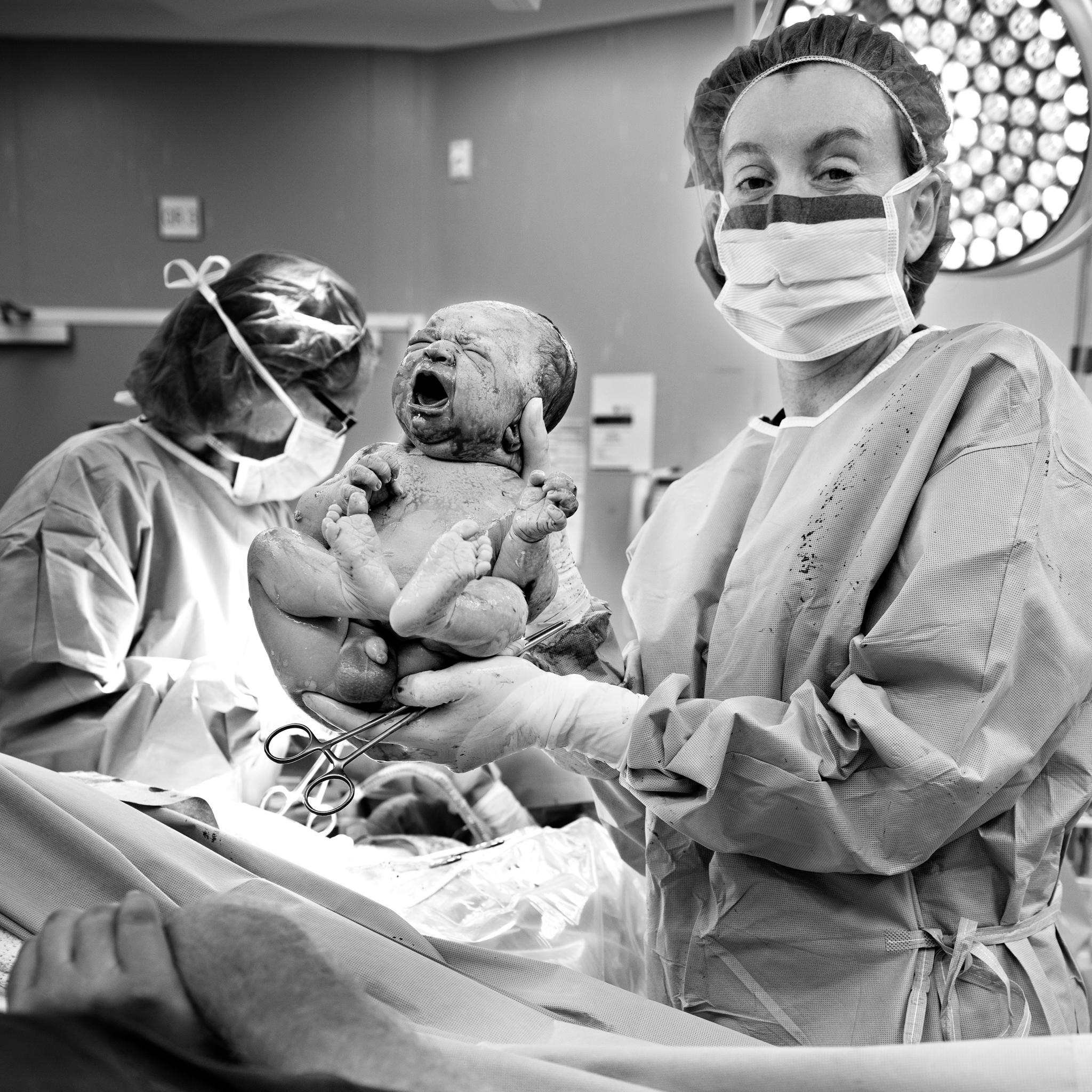 Belle Verdiglione Birth Photography Photographer Perth Scheduled Caesarean Gentle Newborn