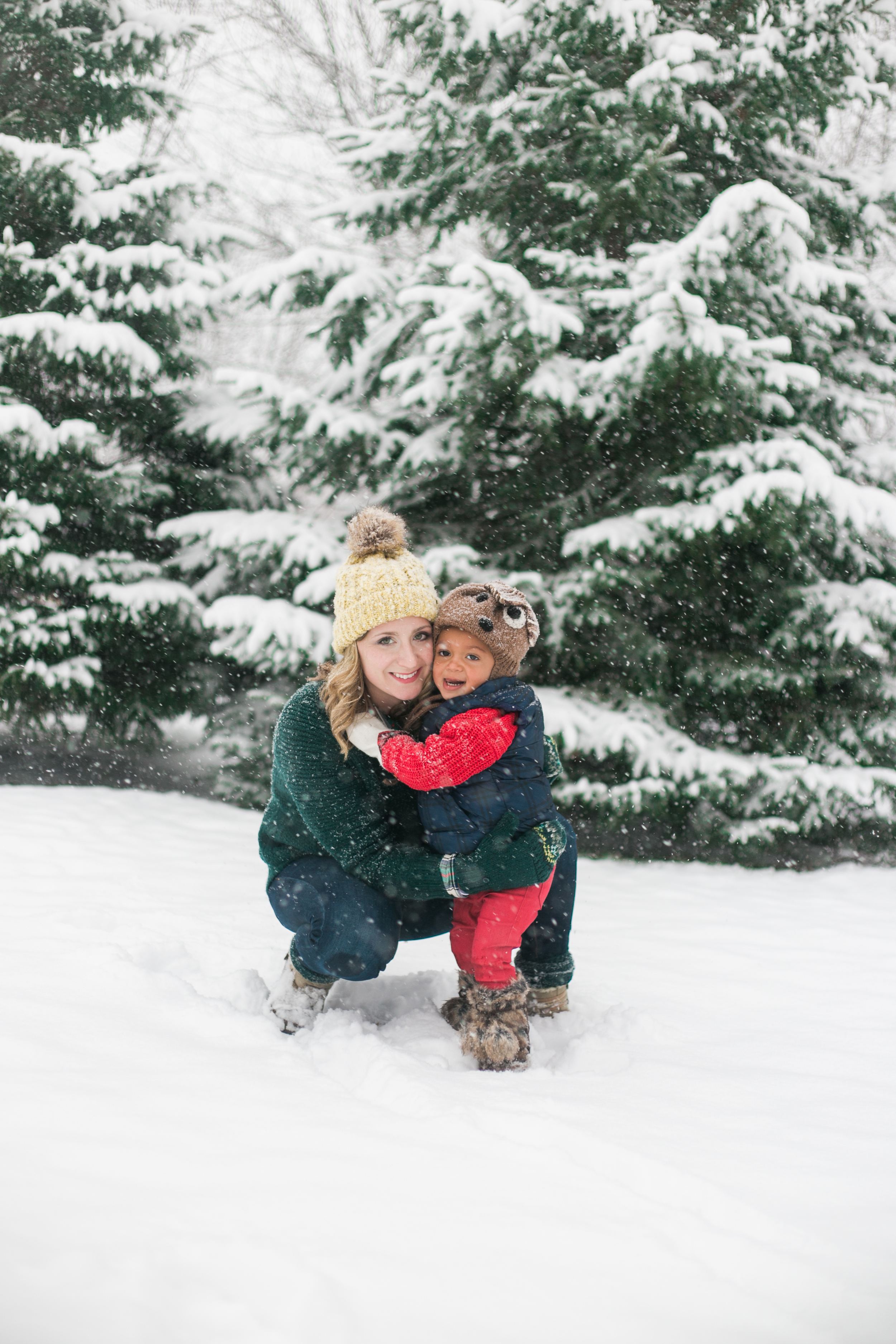 vanessa wyler photography pewaukee snow day photography session