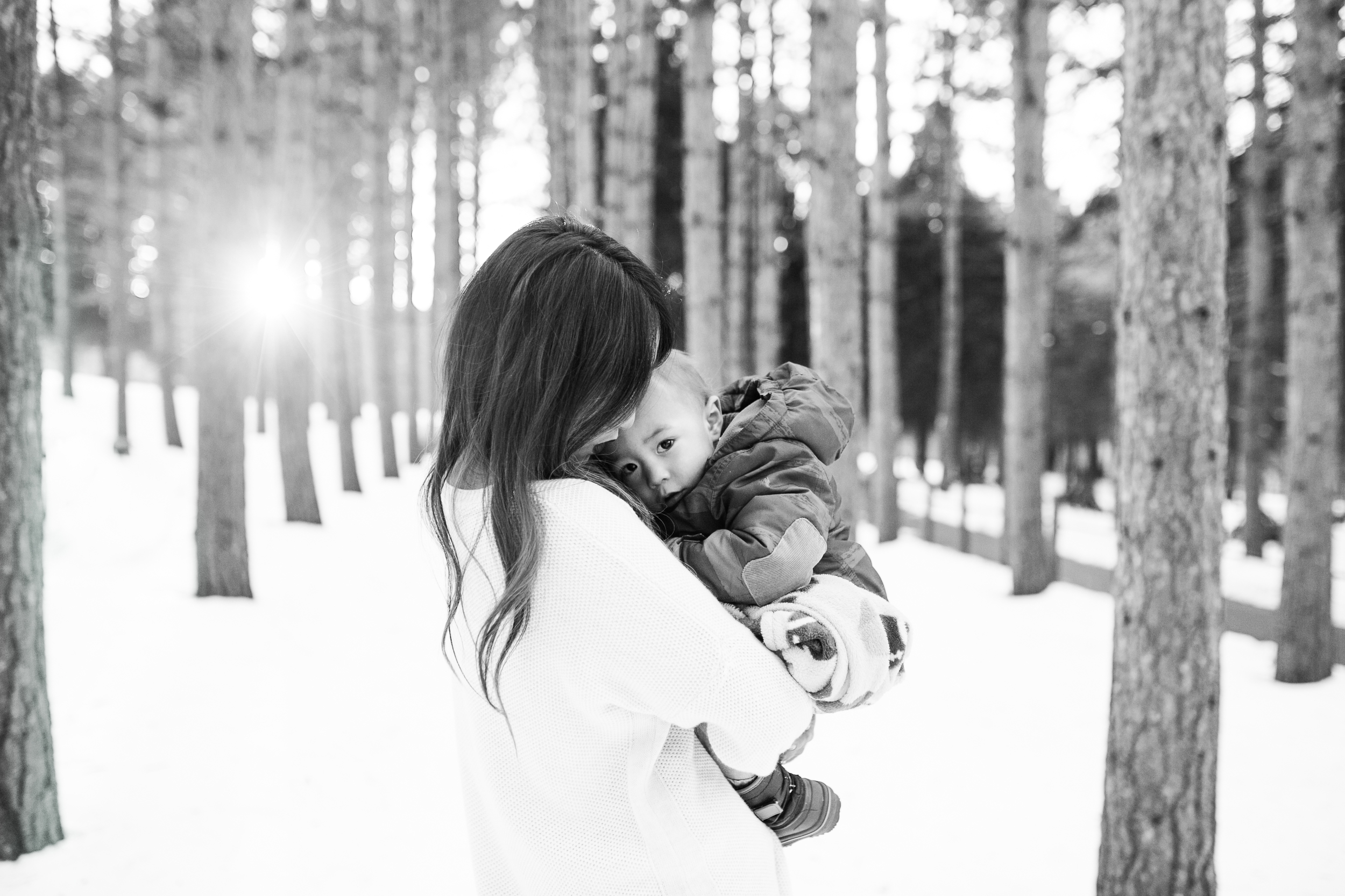 winter family photography session vanessa wyler photography pewaukee waukesha