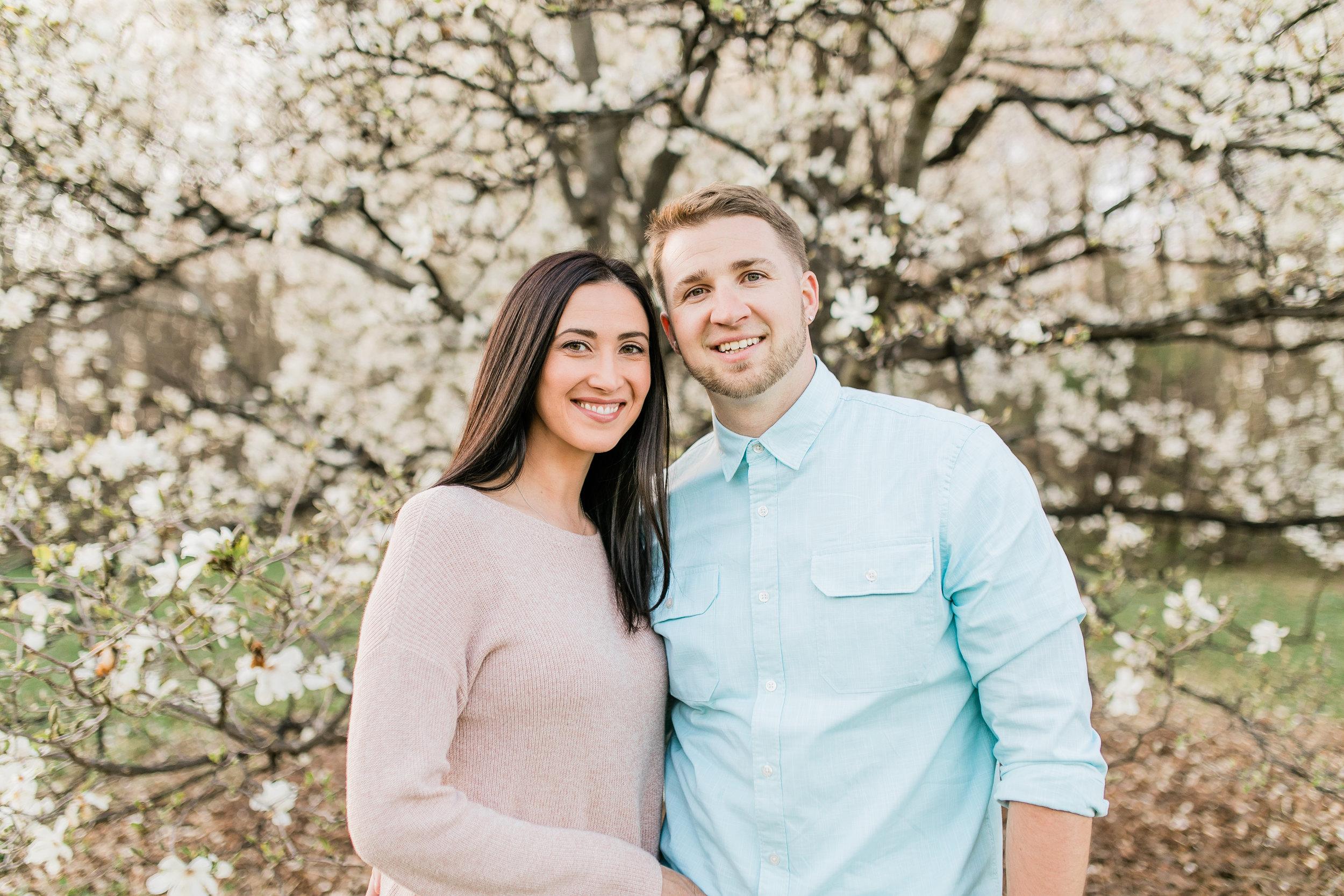 vanessa wyler pewaukee photographer spring magnolia blooms