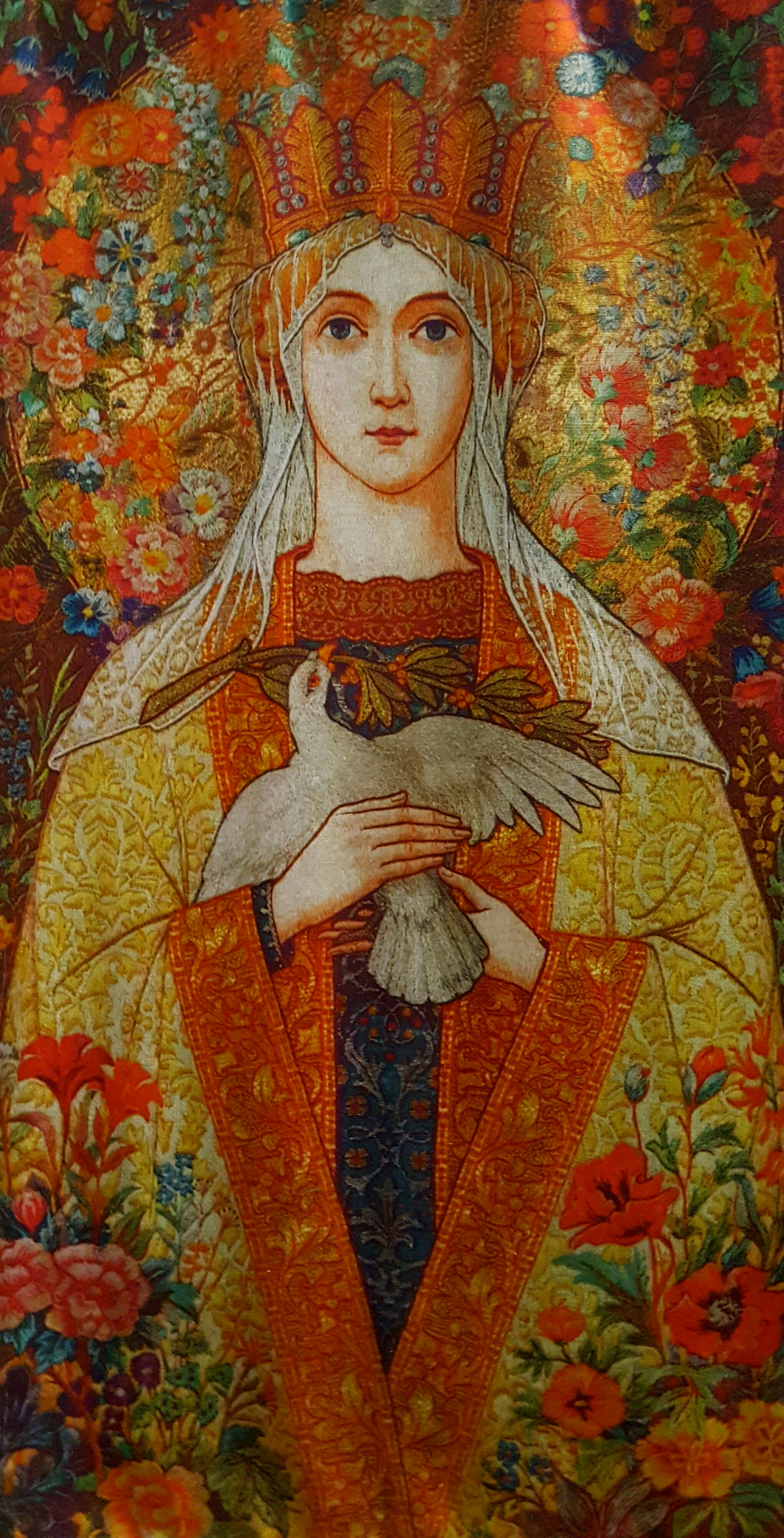 Tapestry hanging in Church of the Epiphany, Crafers, South Australia