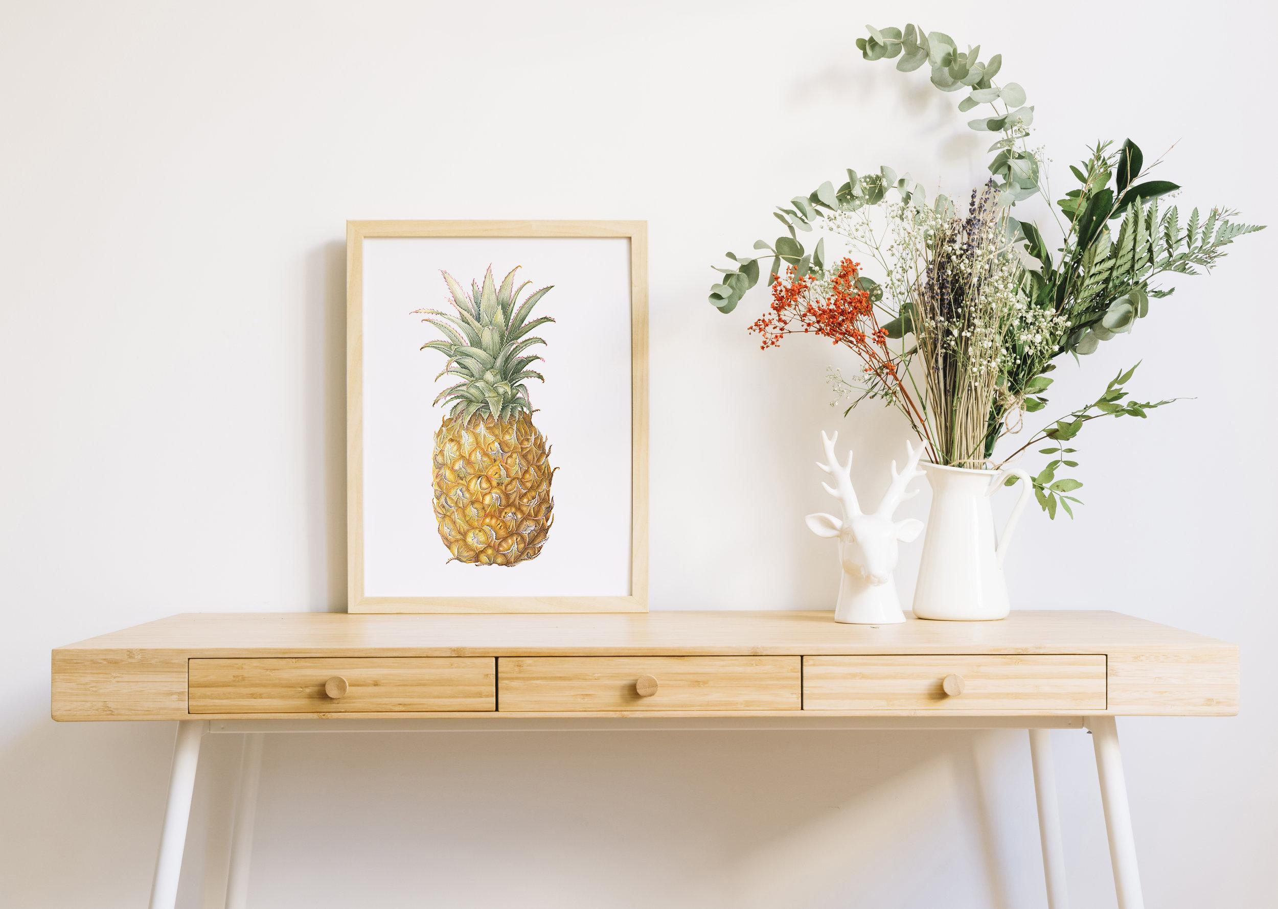 Pineapple Crush, 29 x 38 cm