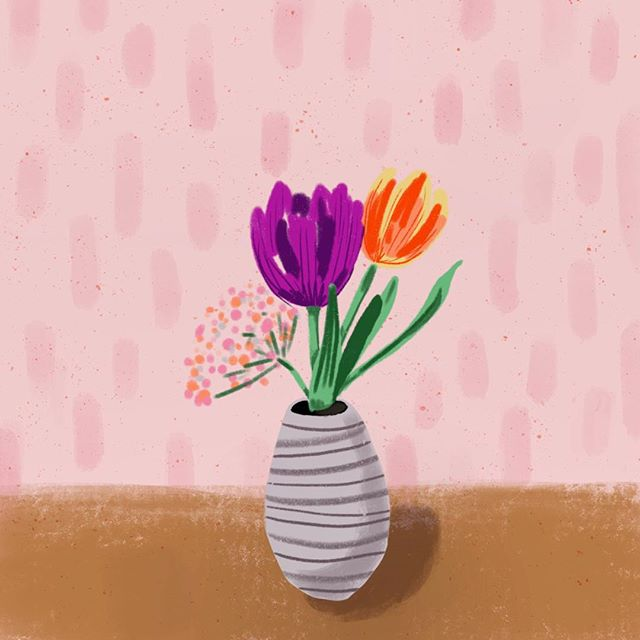 Happy earth day 🌎🌷 . . . #happyearthday #doodle #sketch #tulips #springflowers #drawing #instadrawings #instaart #tulipseason #doodlegram #drawdrawdraw #instalove #moodoftheday