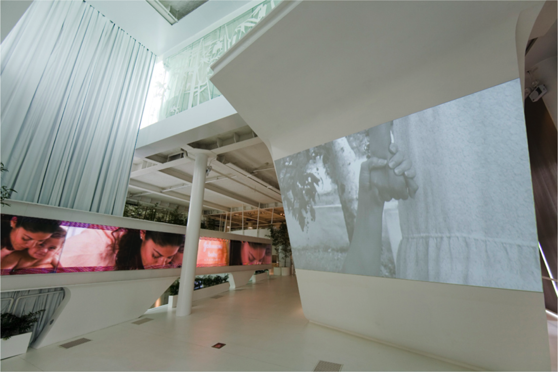 Projected Media and Displays