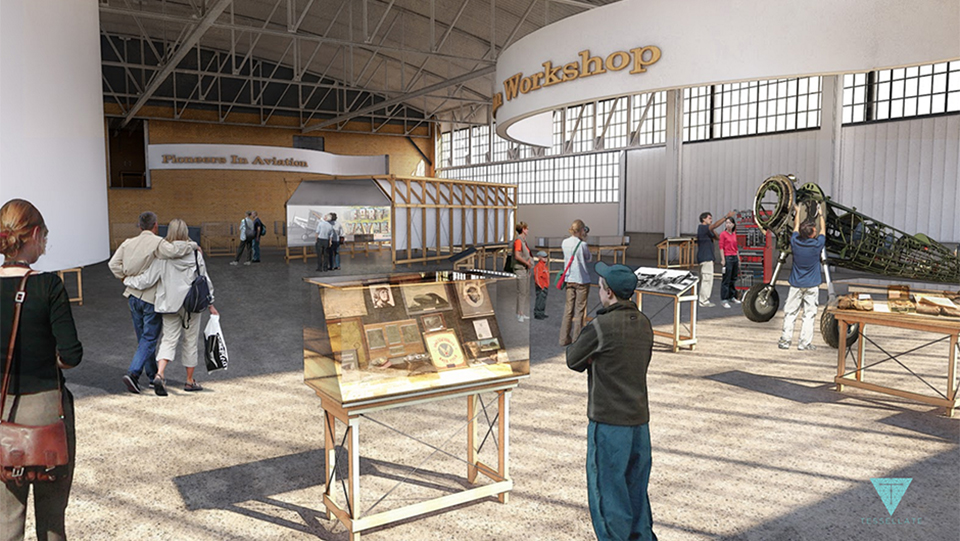 Inside the Museum - Concept Rendering