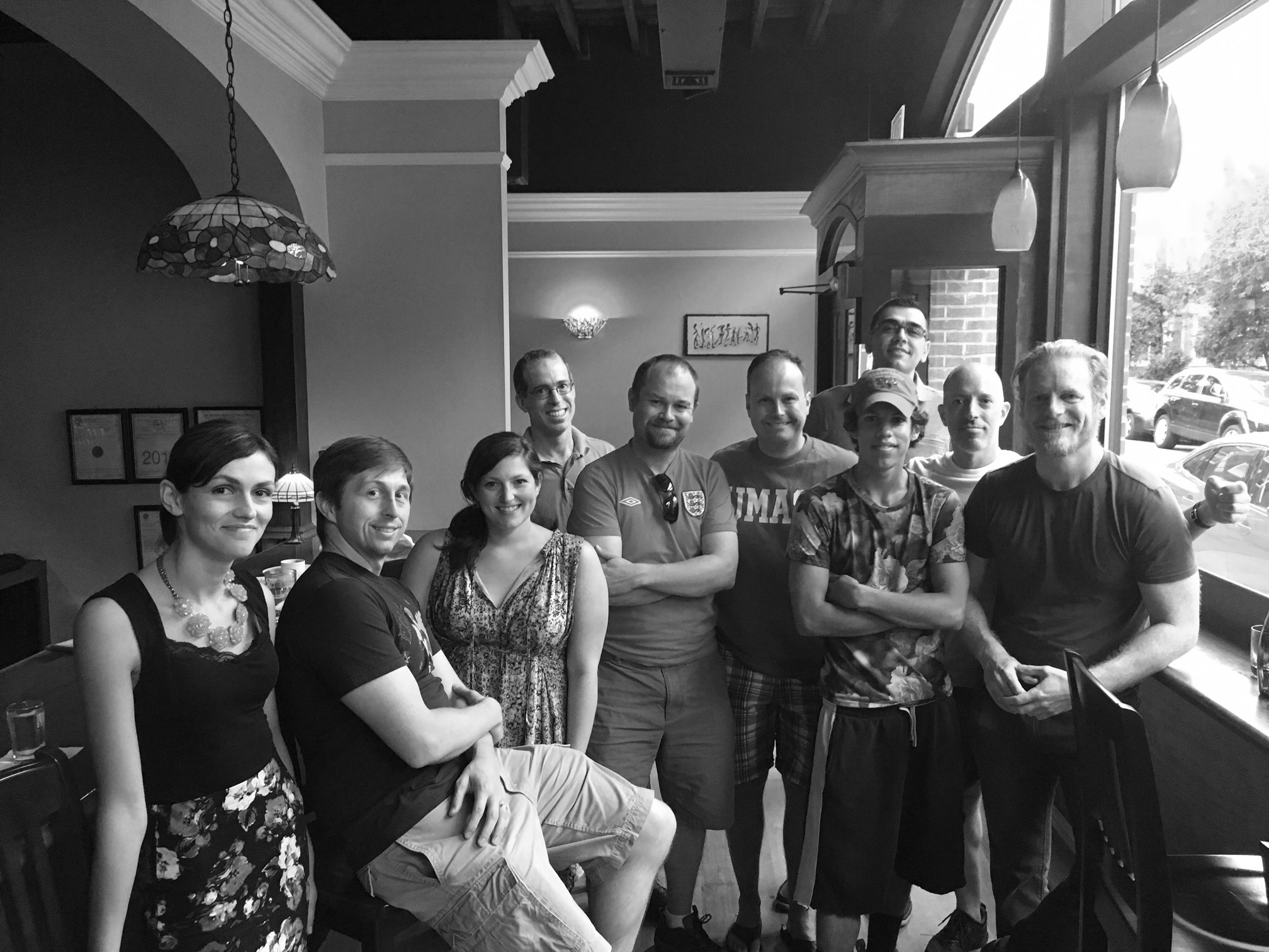 A Boston meet-up in which Harris bought nice people beer