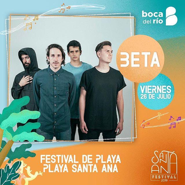 ¡Veracruz! Este viernes 26 nos vemos a las 4 pm en Boca del Río en el Festival de playa Santa Ana. ¡Lleguen temprano!