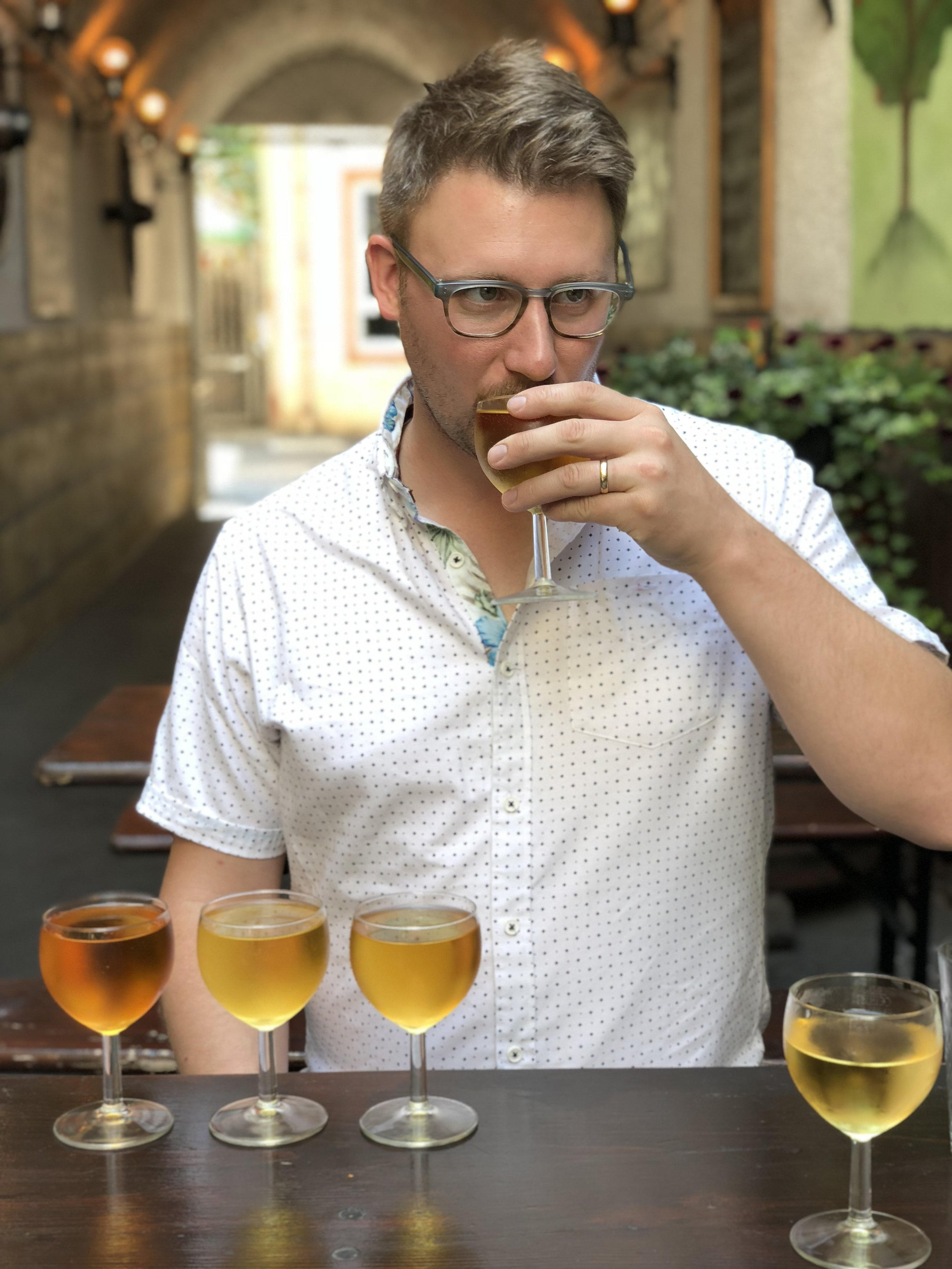 Keenan Bailey - Cider maker, orchardist, delivery man, son, husband, procrastinator, idealist