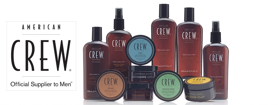 A Leading hairstyling product. A wide range of gels. wax's, pasts & creams to suite every hair style. American Crew is also available for retail ask the reception for the best product for your hairstyle.