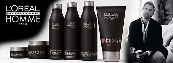 L'Oreal is a leading cosmetics brand that BLADE is proud to associate itself with. BLADE is the first L'OREAL Certified man's saloon in Oman. We use L'Oreal in most of our services from hair coloring to hair treatment. Hair care & styling to rebounding and straightening. We even use L'Oreal MEN EXPERT products in our shaving service with both cleanser & moisturizer are from L'Oreal.