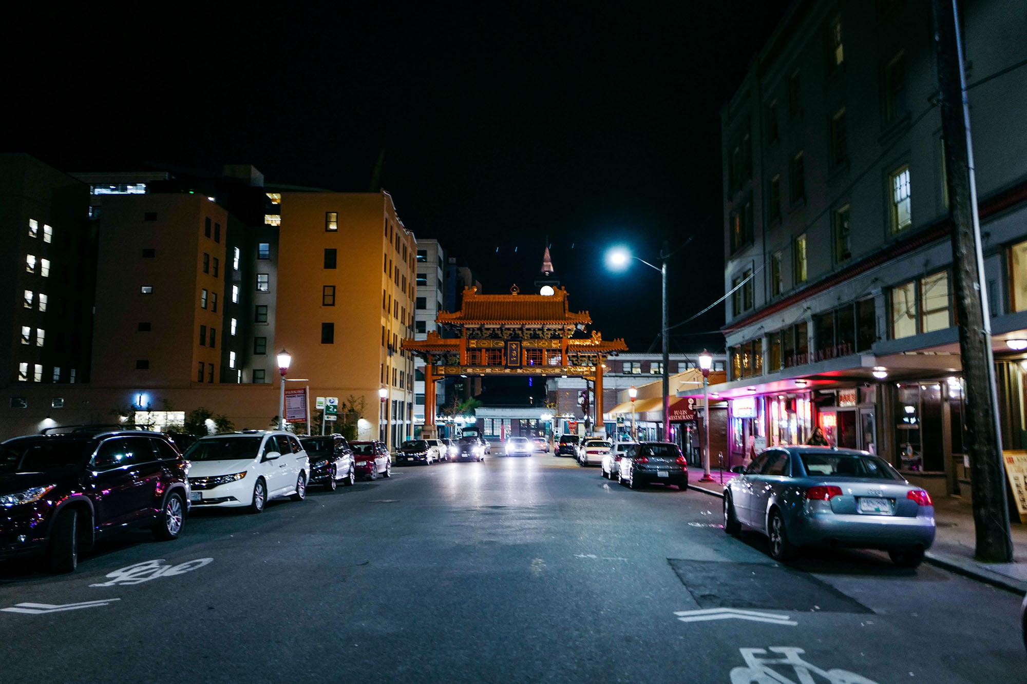 Chinatown Past Six -