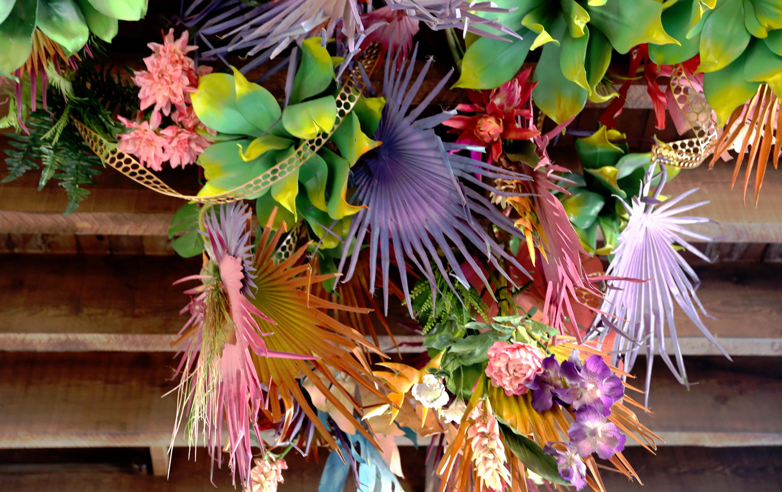 Botanical installation at VANDAL Sydney offices