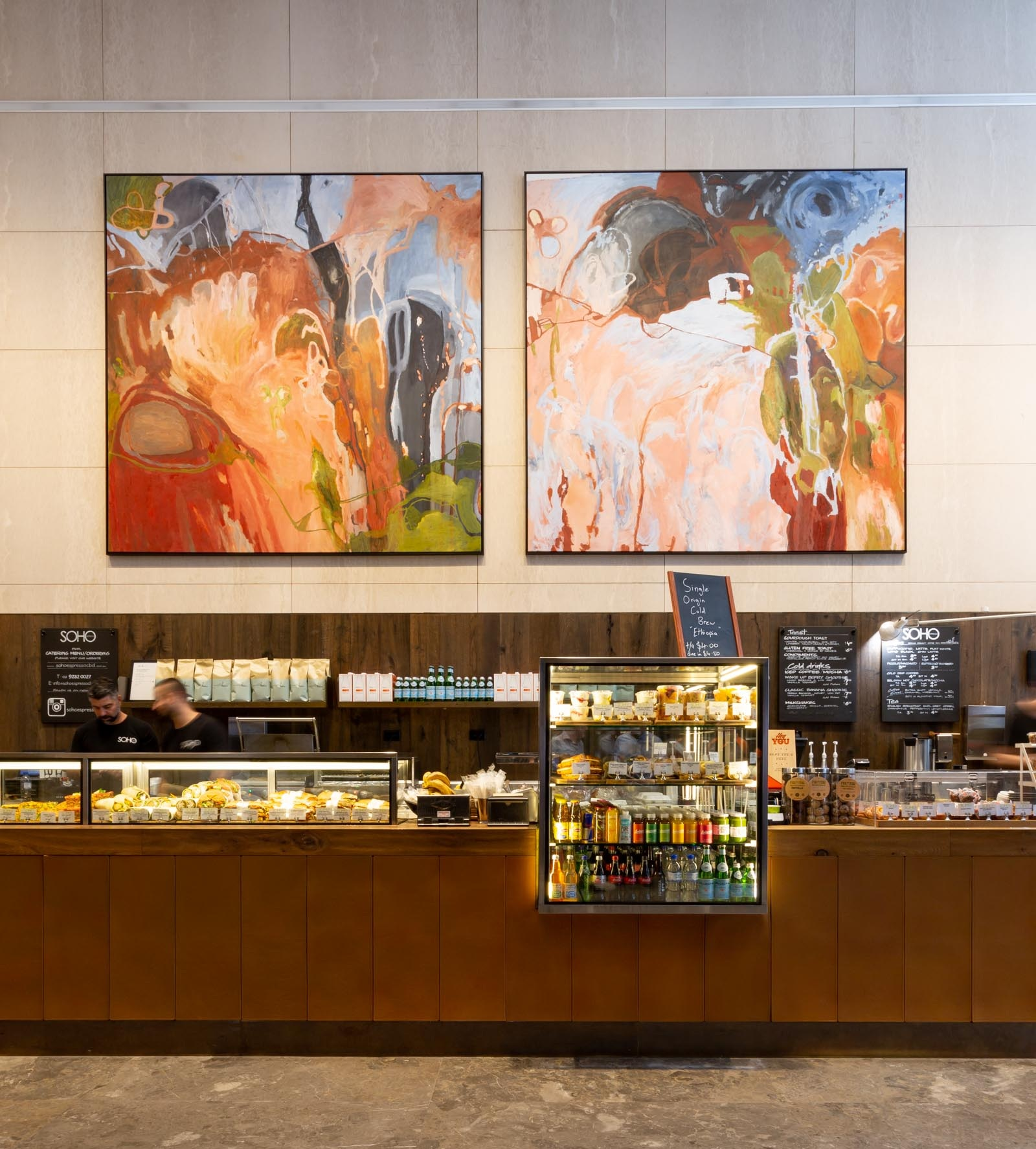 Flow North , Nicole Chaffey at 175 Pitt Street, Dexus. Credit: Art Pharmacy Consulting/Jodie Barker