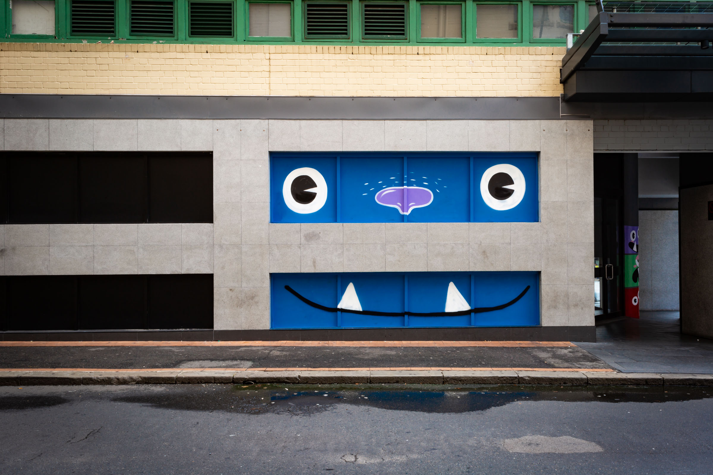 One of many murals by artist Ginger Taylor at Broadway Shopping Centre, Sydney. Credit: Art Pharmacy Consulting/Jodie Barker.