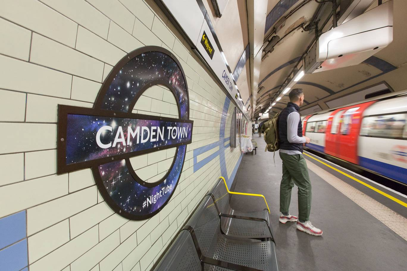 The Night Tube is just one of many ways London is building their 24 hour city.  Image Credit:    Evening Standard