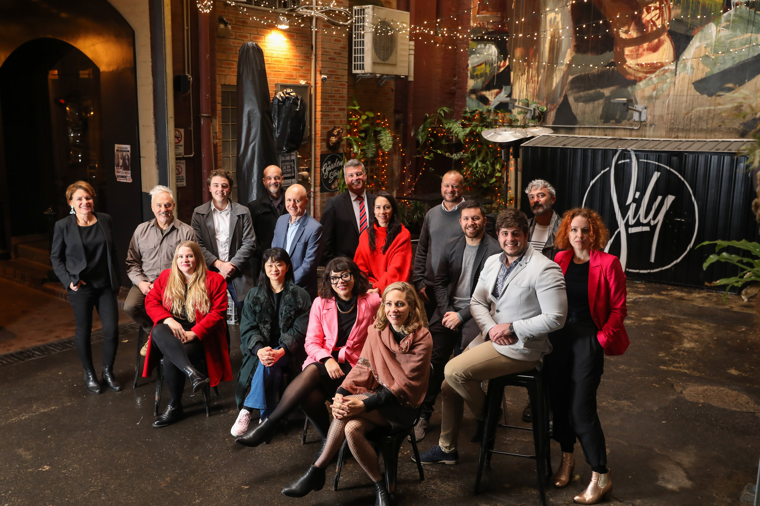 Nightlife and Creative Sector Advisory Panel. Image Credit: City of Sydney