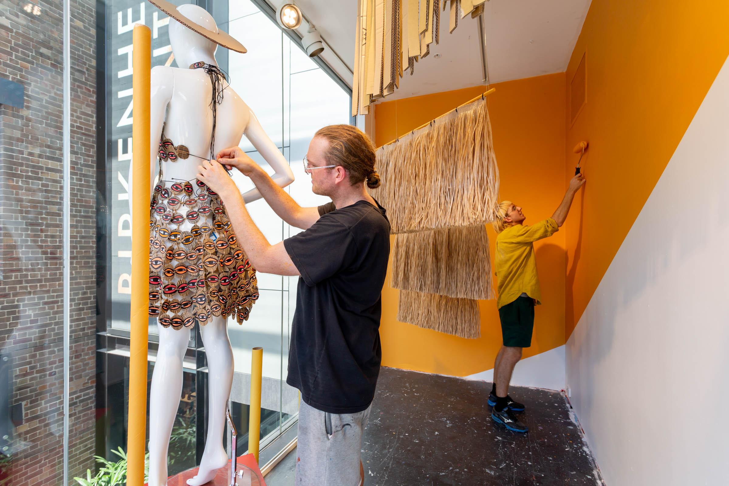 Jeff McCann's installation at Birkenhead Point. Image Credit: Art Pharmacy Consulting / Jodie Barker