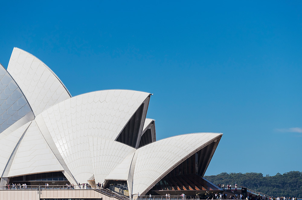 """The Sydney Opera House is the ultimate example of ""design excellence"" in Sydney."" says Olivia Hyde. Image Credit: Hamilton Lund."