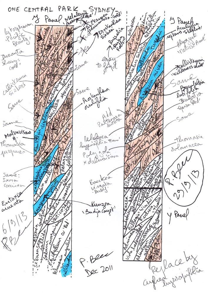 The process behind Patrick Blanc's incredible vertical hanging garden. Image Credit:    Patrick Blanc