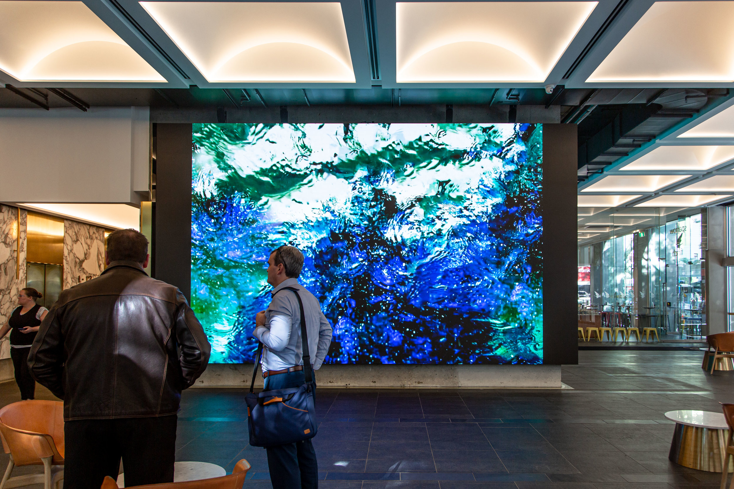 Space - Ocean Continuum, at 100 Creek Street. Image credit: Art Pharmacy Consulting / Anwyn Howarth.