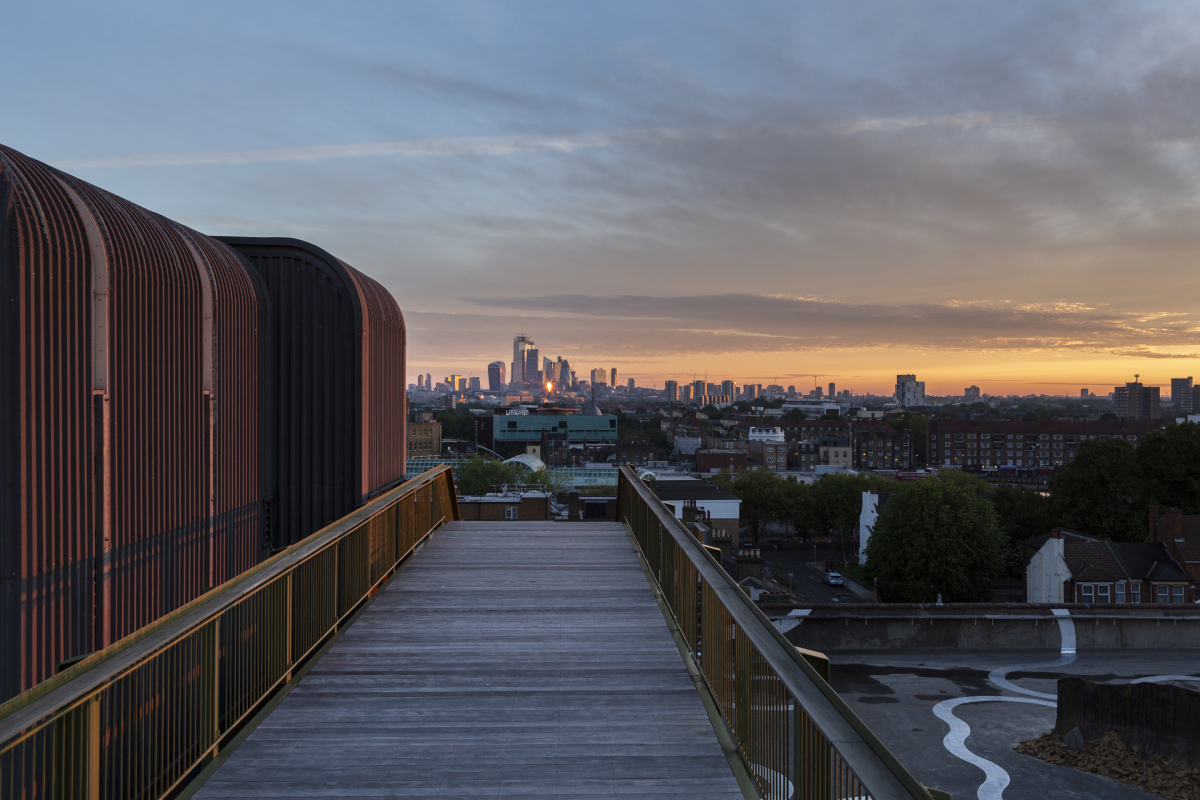 Just one possible amazing car park rooftop view. We should be making better use of these! Image Credit:    Bold Tendencies