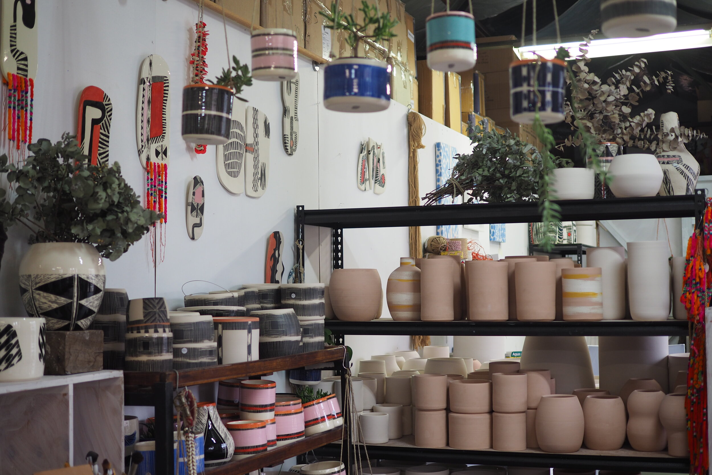 A ceramist's studio in Marrickville, Sydney. Image Credit:  Culture Scouts