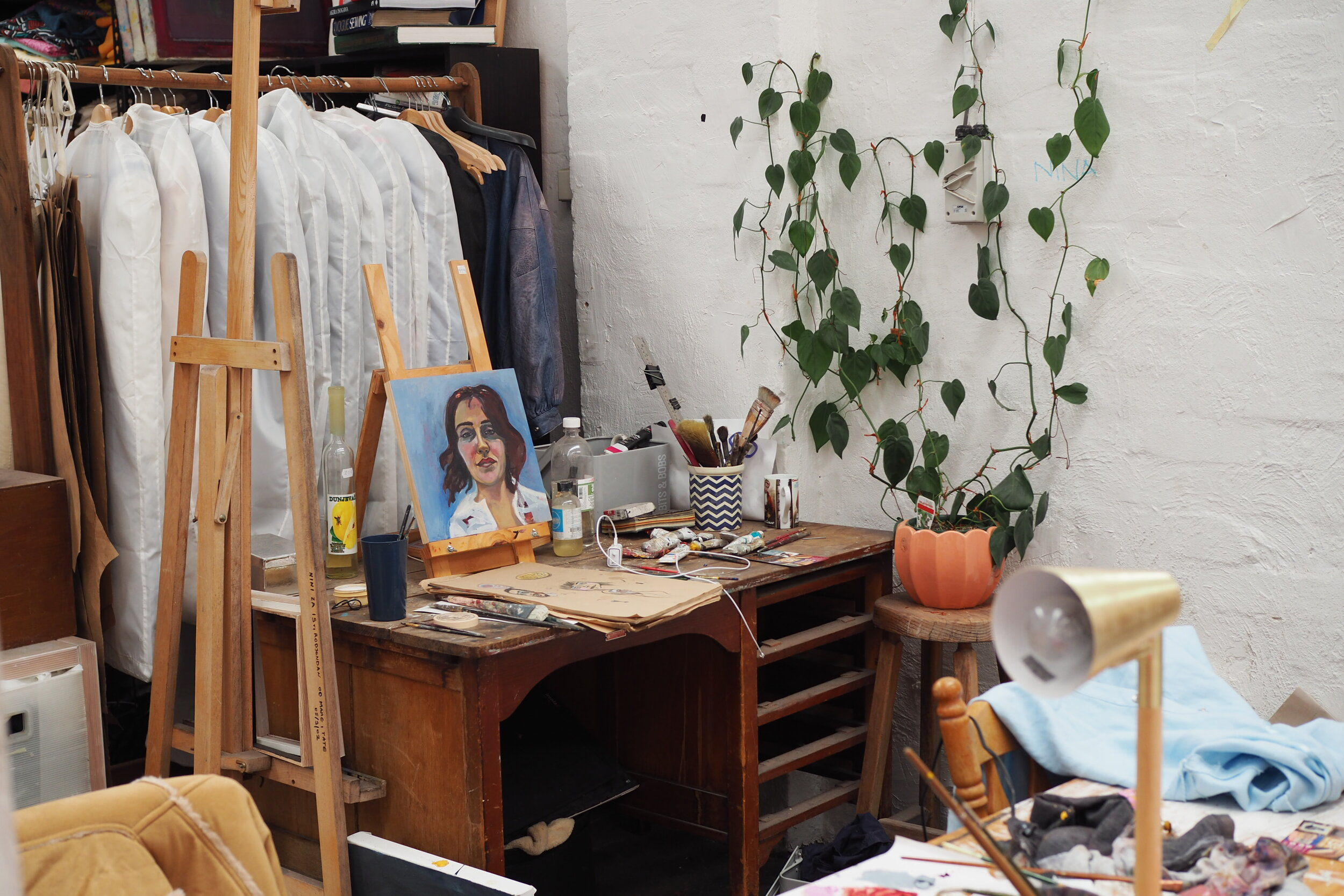 A painter's studio in Marrickville, Sydney. Image Credit:  Culture Scouts