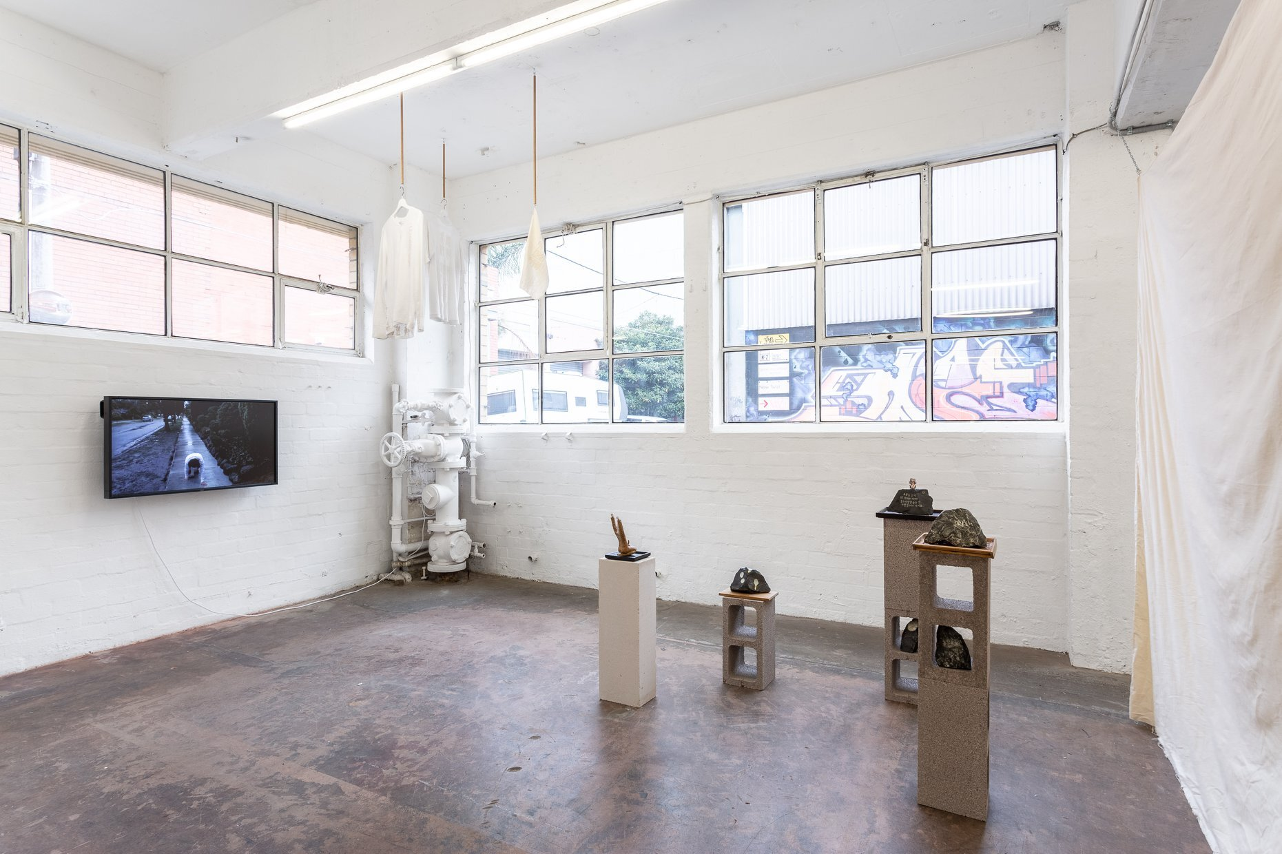 An exhibition being held at Bus Projects, based in Collingwood, Melbourne. Image Credit:  Bus Projects