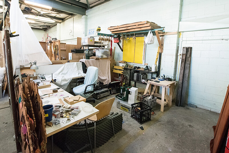 A studio space at 107 Projects, based in Redfern, Sydney. Image Credit:  107 Projects