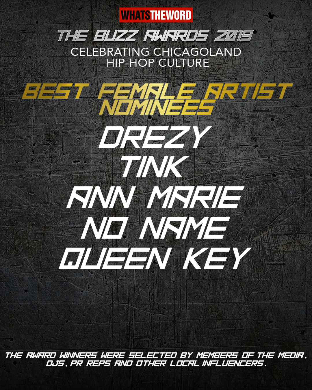 Best Female Artist_The Buzz Awards 2019_Nominees.jpg