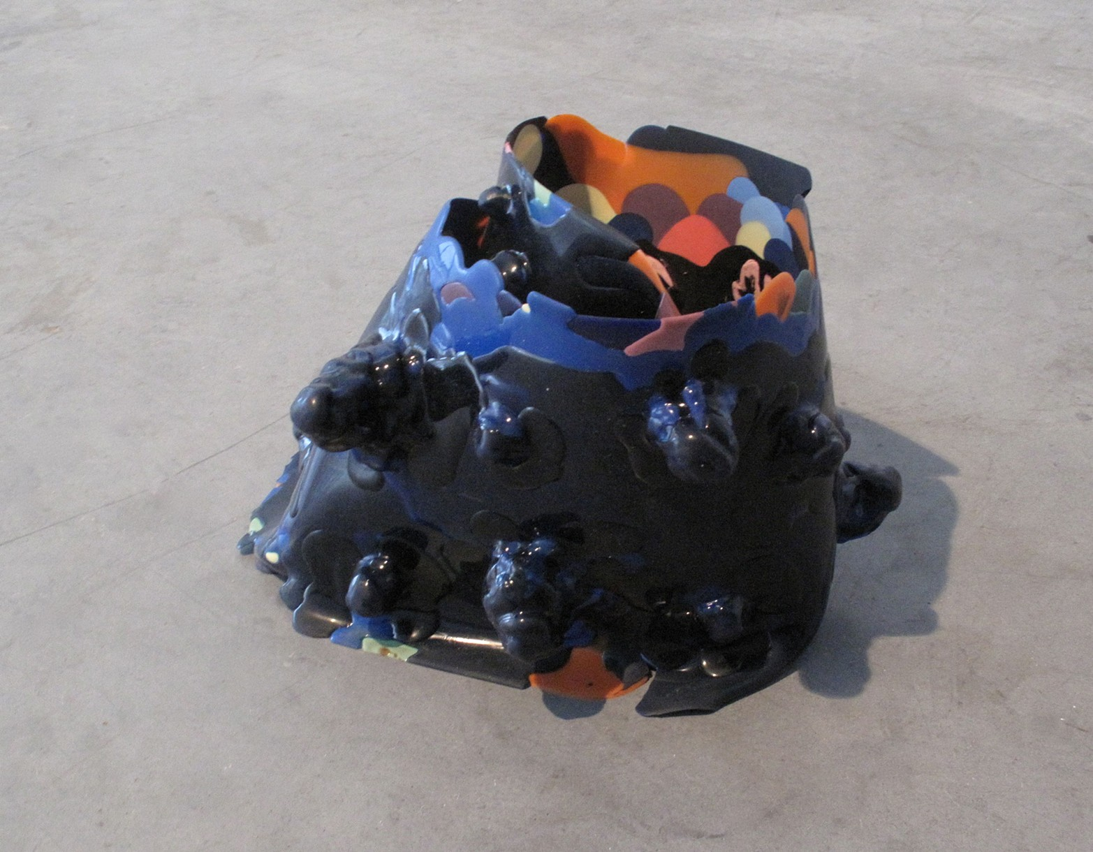 Untitled (to spread, to catch, to recoil), 2012