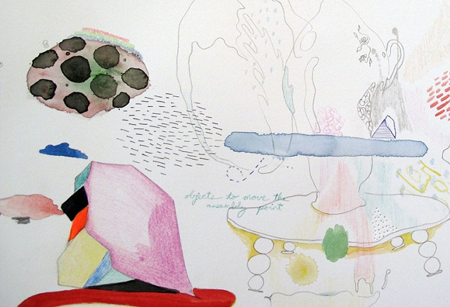 Drafts for the Working Moment (detail)