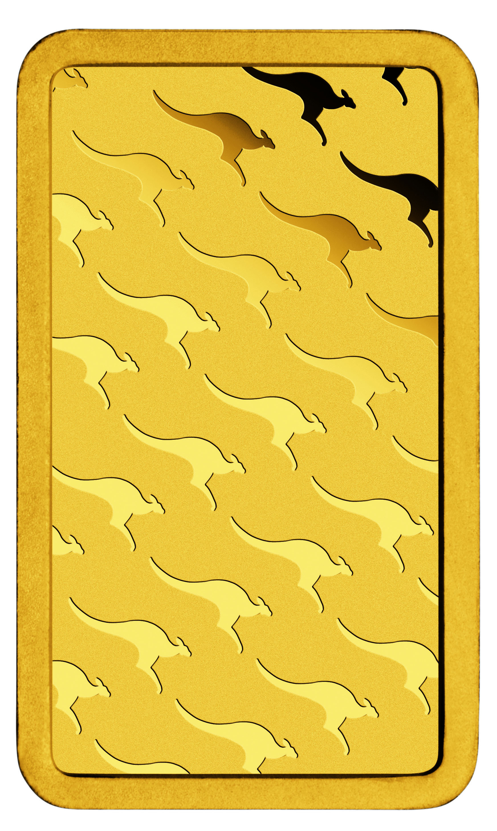 Visit the Gold Industry Group booth to go in the draw to win this Kangaroo Minted Gold Bar from The Perth Mint!